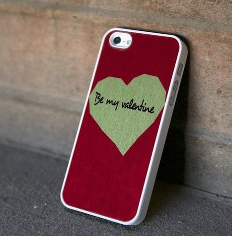 Be My Valentine Case For iPhone 5/5S by BlissfulCASE   Shut up and take my money!   Scoop.it