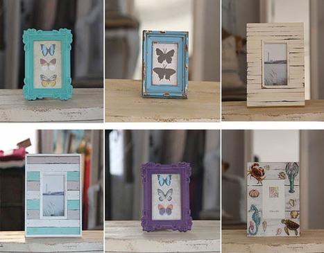 Bonitos marcos de fotos originales, modernos y rústicos.   Mil ideas de Decoración   Accesorios decoración   Scoop.it