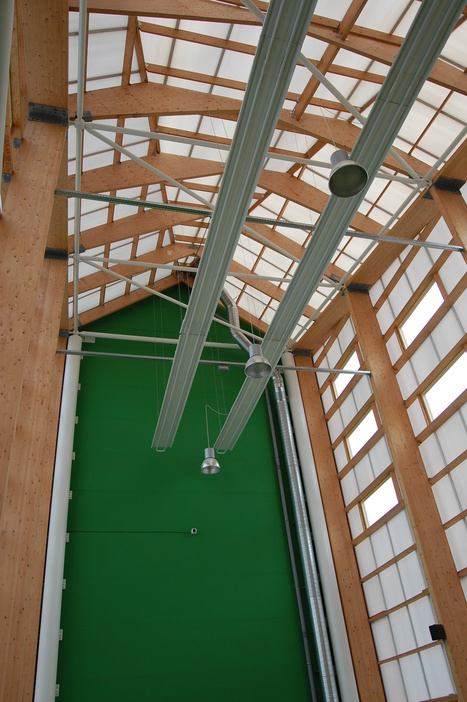 Perche' il legno lamellare e' ancora prediletto dai progettisti | Il mondo delle strutture | Scoop.it