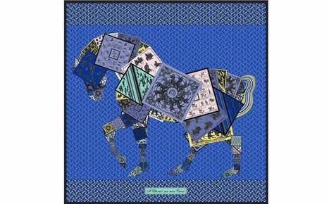 Hermès Launches A Limited Edition Equestrian-themed Scarf  - Pursuitist | GHPhorses | Scoop.it