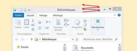 Secouer une fenêtre Windows permet de réduire toutes les autres fenêtre actives | TICE au Maroc | Scoop.it