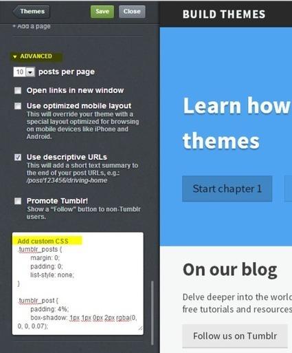 Build Themes - Learn Tumblr theme development | Graphisme, Web & Technologie | Scoop.it