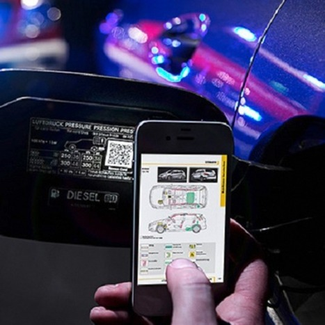 Mercedes Adds QR Codes to Cars to Aid Crash Rescues | Communication design | Scoop.it