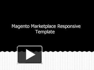 Magento Marketplace Responsive Template | webkul | Scoop.it