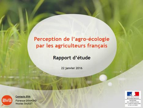 Perception de l'agro-écologie par les agriculteurs français - BVA | AGRONOMIE VEGETAL | Scoop.it