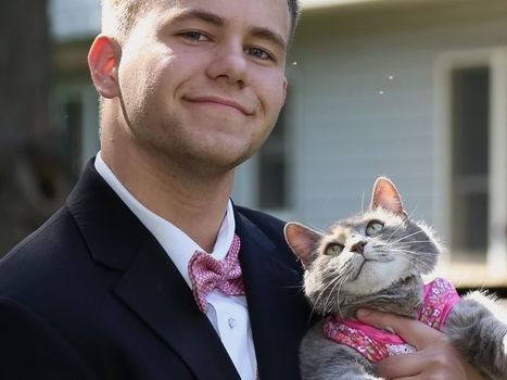Sans cavalière pour son bal de promo, il décide d'emmener sa chatte – metronews   Web Explorer   Scoop.it