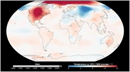 Watch the Earth Warm Since 1880 | Geography Education | Scoop.it