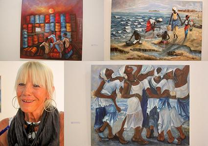 Exposition au village des arts de Dakar : Agnès Theureau retrace le quotidien des Sénégalais | Le Quotidien (Sénégal) | Kiosque du monde : Afrique | Scoop.it