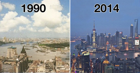 Before and after: seeing how much the world has changed in the last century will blow your mind! | Social Environments | Scoop.it