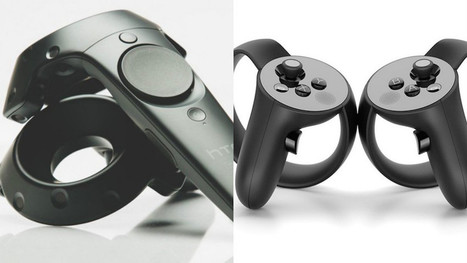 Oculus Touch vs. HTC Vive | Immersive Technology for Learning | Scoop.it