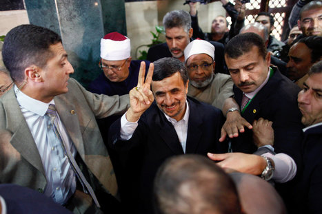 Ahmadinejad Visits Egypt, Signaling Realignment - New York Times | Bahrain news | Scoop.it