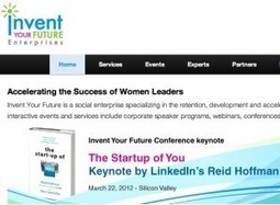 Women, Invent Your Future: Attend Ruth Stergiou's conference in Sunnyvale (CA) this week! | Entrepreneurship, Innovation | Scoop.it