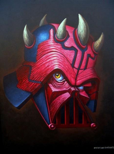 Dark Hybrid and The Trooper | Guerre stellari | Scoop.it