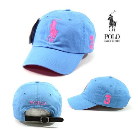 Light Blue Cap Pink Large Logo Polo Baseball Hat BP14 Golf Tennis Outdoor Casual   Stik-it! Golf Industry News   Scoop.it