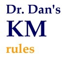 "Dr. Dan's Knowledge Management ""Rules"" 