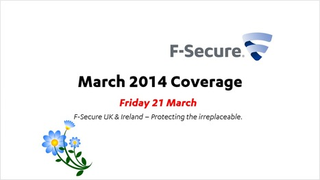 March Coverage (21st) | F-Secure Coverage (UK) | Scoop.it