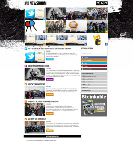 RAG Social Media Newsroom | Social Media Newsrooms | Scoop.it