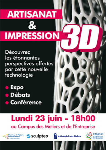 "Soirée ""Artisanat et impression 3D"" 
