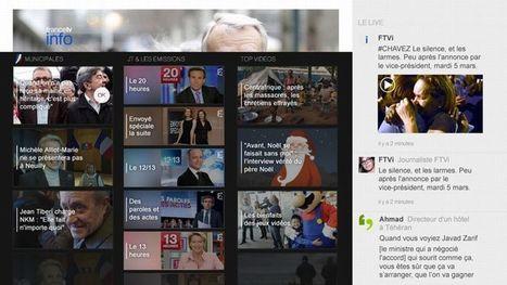 France Télévisions lance (enfin) une chaîne d'info | Revue des médias | Scoop.it