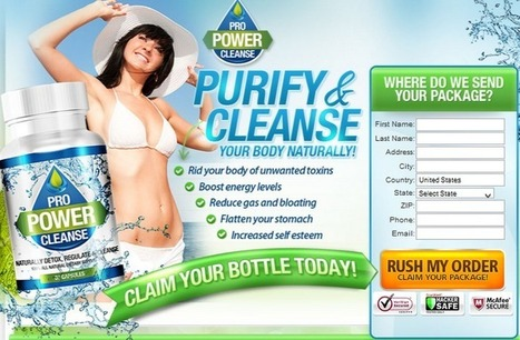 Pro Power Cleanse Review – Get Risk FREE Trial HERE!!! | Magical Solution to Lose Weight | Scoop.it