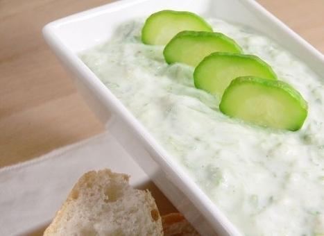 Easy Cucumber Yogurt Tzatziki Recipe | Delicious Recipes | Scoop.it