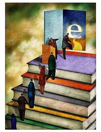 Blog U.: Not Sold (Yet) on Ebooks - Library Babel Fish - Inside Higher Ed   eBooks in Libraries   Scoop.it