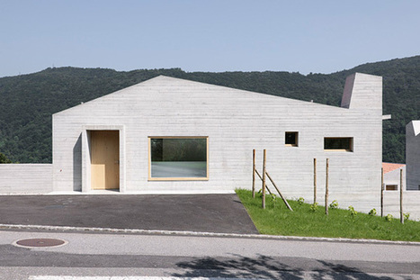 Studio Meyer Piattini. 5 Houses in Barbengo. | Arquitectura: Unifamiliars | Scoop.it