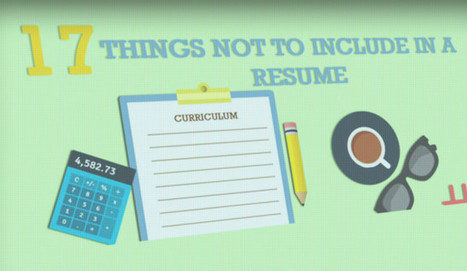 Is Your Resume Flawless? Not if Includes These 17 Things | Learning*Education*Technology | Scoop.it