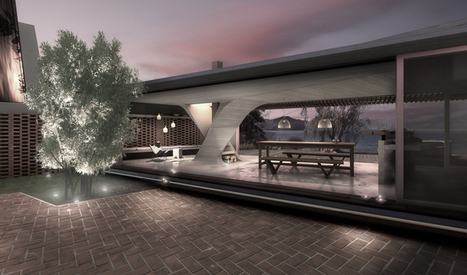 one column house by DiA architecture studio | Structure and design | Scoop.it