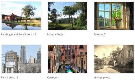 FotoSketcher - Turn photos into art | E-Learning Suggestions, Ideas, and Tips | Scoop.it