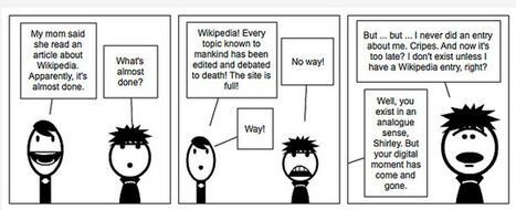 Digital Writing Month Comic: Completing Wikipedia | #digiwrimo: Digital Writing Month | Scoop.it