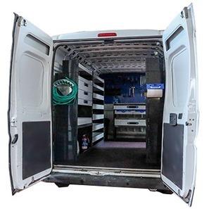 Allestimenti, scaffalature e pianali per furgoni - Denitalia | veicoli commerciali | Scoop.it