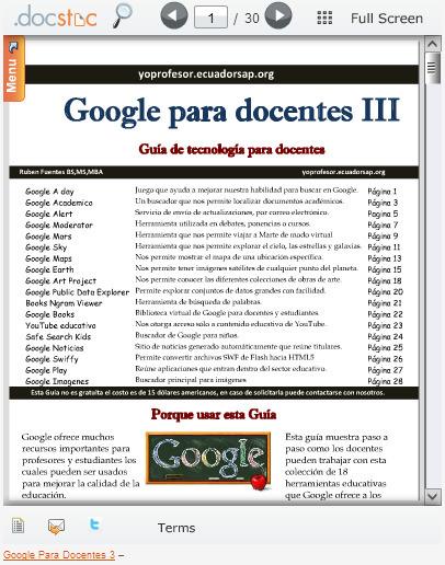 Guía de Google para Docentes III | Educació i TIC | Scoop.it