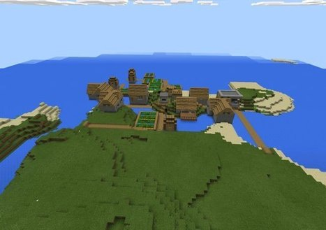 Two Villages on an Island Seed | Minecraft New | Scoop.it