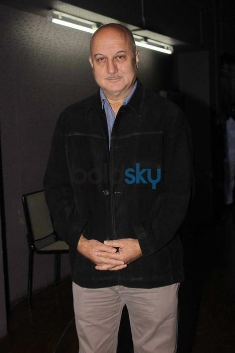 Anupam's Kher's 200th stage performance | Celebrity fashion | Scoop.it