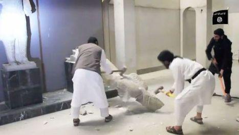 ISIS destruye estatuas del siglo IX AC en un museo de Irak | Humanidades | Scoop.it
