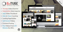 BeeTube Video WordPress Theme Nulled v2.3   All Free Stuff   Scoop.it