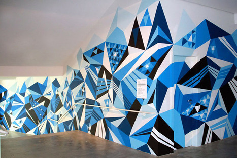 4. Being Creative with Angles! Murals that use Angles | Matt W. Moore | Amazing Angles | Scoop.it
