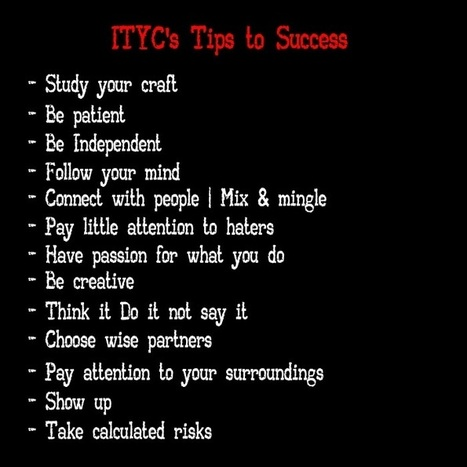SKN Music Industry 411: ITYC's Tips To Success | Recording artist | Scoop.it