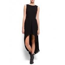 Robe longue asymétrique noire Bovuisace | Bovuisace - vêtements | Scoop.it