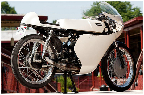 Yamaha RD125 | Cafe Racers | Scoop.it