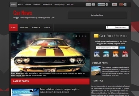 Templatesdoctor will design superb ,unique blogger template for $5, only on fiverr.com   New Blog Themes   Scoop.it
