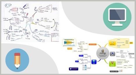 Mind Mapping à la main ou au logiciel ? | Medic'All Maps | Scoop.it