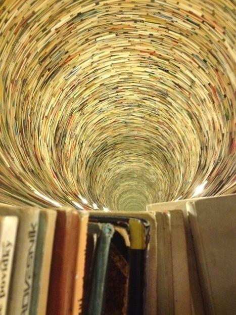 Un puit de livres à la bibliothèque de Prague   BiblioLivre   Scoop.it