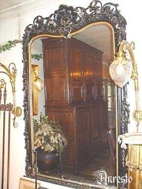 Antieke ROCOCO WANDSPIEGEL 19E EEUWS | Antiek Antique | Scoop.it