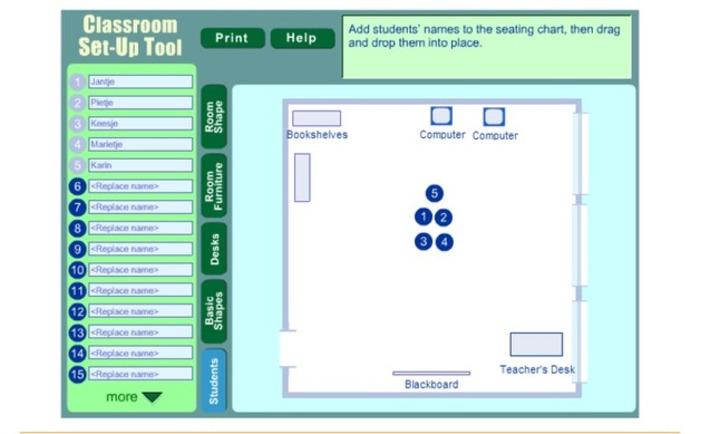 Edu-Curator: Maak een plattegrond van jouw klas met de Classroom Set-Up Tool óf een PowerPoint-sjabloon | Educatief Internet - Gespot op 't Web | Scoop.it