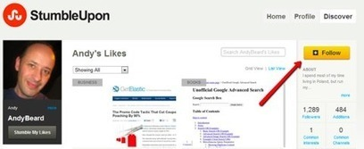 "The Secret to Getting Highly Targeted Traffic from StumbleUpon | ""Social Media"" 