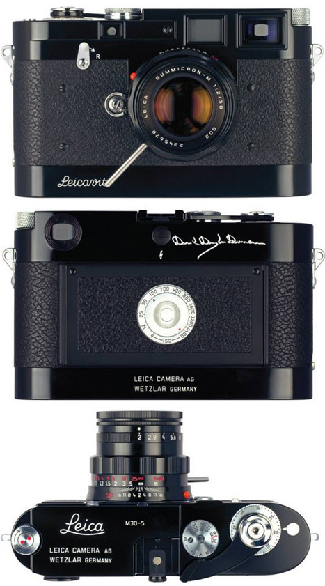 "Leica M3D-5 ""David Douglas Duncan"" limited edition camera: additional coverage 