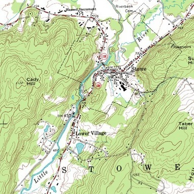 Topographic maps - Map skills and higher-order thinking | Practical skills in Geography | Scoop.it