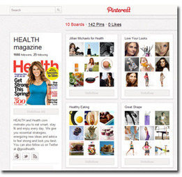 Time Inc.'s Health Pinterest Presence Ramps Up - Consumer @ FolioMag.com | Pinterest | Scoop.it